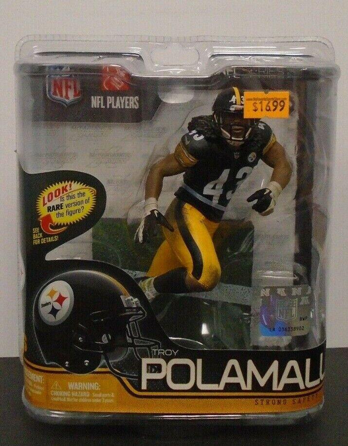 Troy Polamalu Pittsburgh Steelers McFarlane Series 29 Figure 061819DBT3
