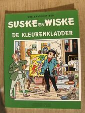 Speciale suske en Wiske De kleurenkladder met groene omslagcover sc 2002