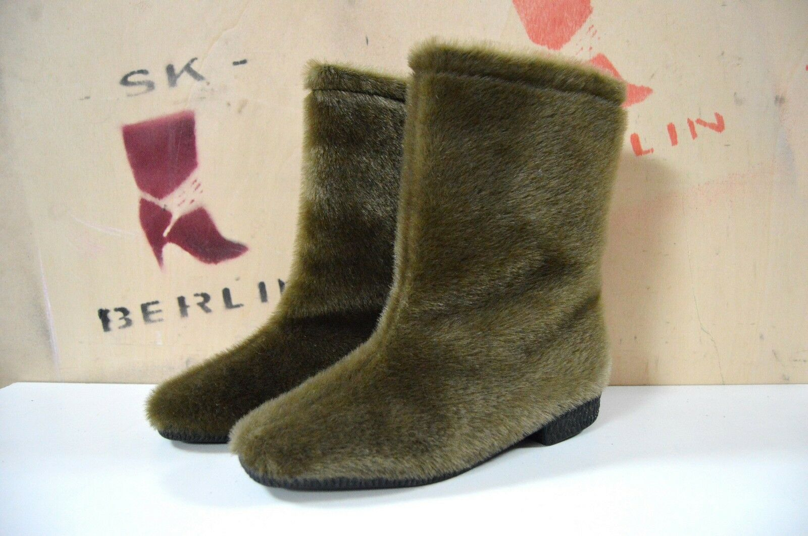 Fell Stiefel Boots Winterstiefel 70er TRUE VINTAGE 80er bottes stivali invernali