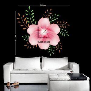 Design-Wand-Uhr (Tattoo+Bild) NEU Design-Uhr Wohnzimmer Esszimmer ...
