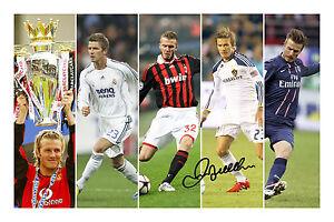 Image is loading David-Beckham-Signed-Autograph-Man-United-AC-Milan- a3ac18dc3