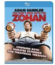 You Dont Mess With the Zohan (Unrated) (Ws Dub)  DVD Blu-ray Adam Sandler, John