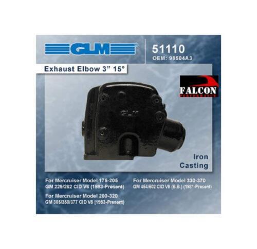 "GLM 3/"" Elbows Mercruiser 5.7L 5.7LX 350 Ski,Magnum Alpha//Bravo,Horizon"