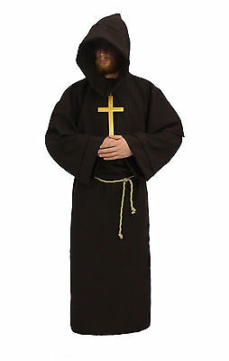 ALL Colours Discount Athelstan Monk Druid Fancy Dress Costume Halloween