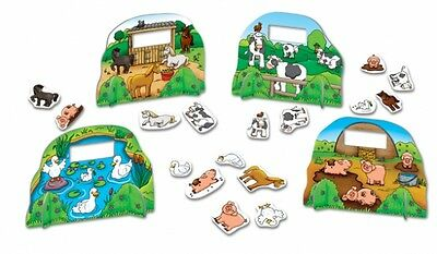 """Farmyard Friends"" Freunde auf dem Hof Bauernhof Orchard Toys"