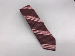 Vintage-Etroit-Polyester-Cravate-Cravate-6-3cm