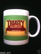 Trusty Vintage Garden Tractor Themed Gift Mug Plough