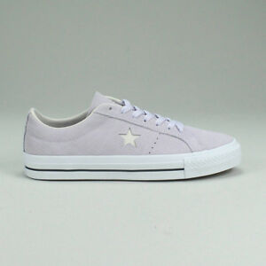 3c0af8bec8ebf1 Converse One Star Pro OX Shoe Trainers New in Barley Grape Size UK ...