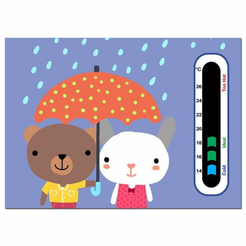 Easy Read Baby Safe Ideas Happy Twins Nursery Room Thermometer