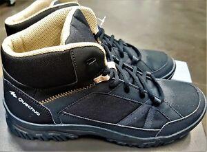 Comfortable Lightweight Quechua Nh 100 Mid Men S Hiking Boots Ebay