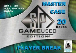 Rasmus-Asplund-RC-2019-20-Upper-Deck-SP-GAME-USED-20-Box-Case-Break-Sabres
