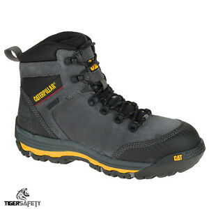 Clothing, Shoes & Accessories Work Boots & Shoes Caterpillar Cat Munising S3 Src Mens Steel Toe Cap Waterproof Safety Boots Ppe
