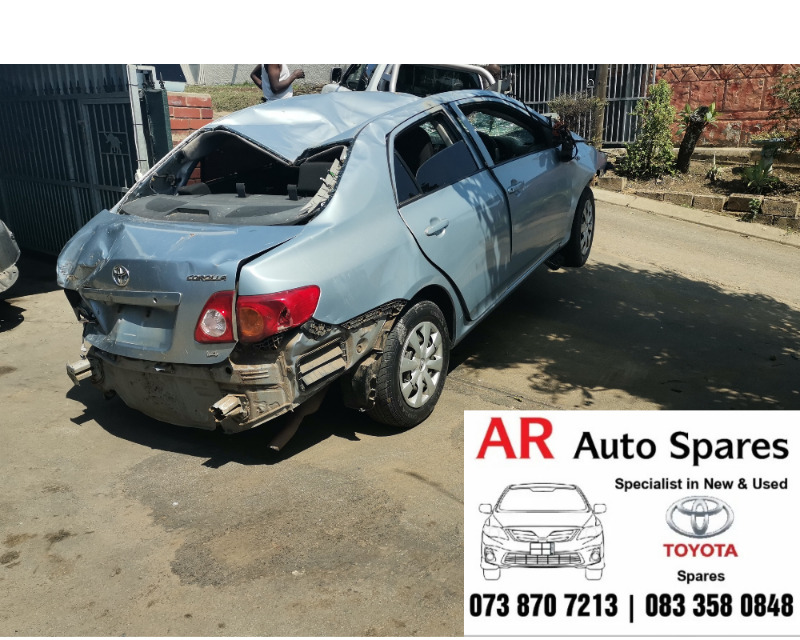 Toyota Corolla professional quest stripping for spares