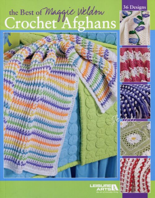 Tunisian Stitch Afghans Herrschners Crochet Pattern//Instructions 2011 Winners