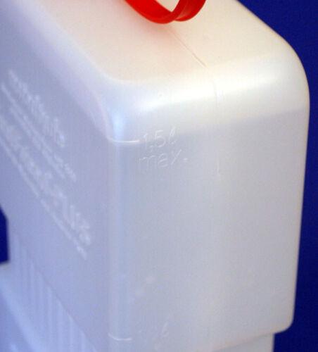 FUELFRIEND-PLUS CLEAR 1 Liter Mini-Benzinkanister Füllrohr verschließbar