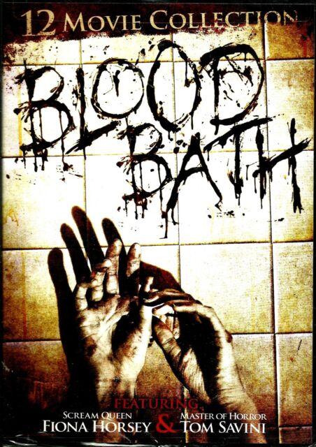 Blood Bath.12xModern Horror Flix Boxset. New In Shrink!
