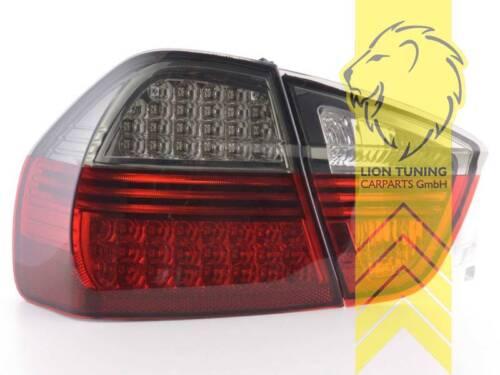 LED Rückleuchten Heckleuchten für BMW E90 Limousine rot schwarz