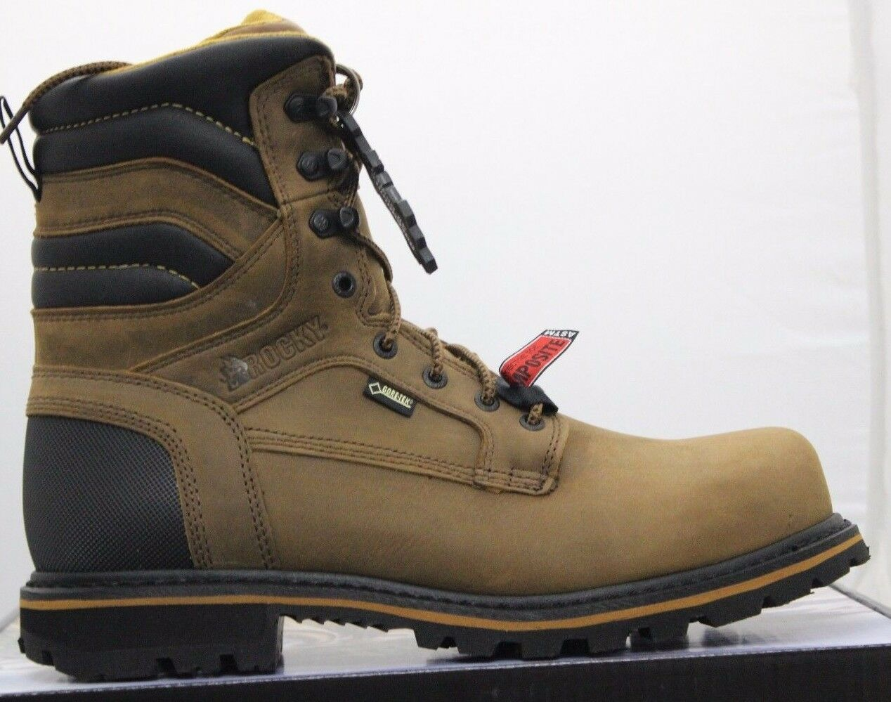 Rocky Work Boots Men's 8