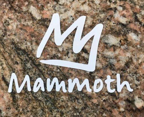 Ski Snowboard Skiing Sports Mountain Biking Burton Mammoth Mountain Sticker