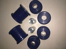 BMW E36 REAR SUBFRAME BUSHES, Trailing Arm DURAFLEX EXTREME Blue Polyurethane