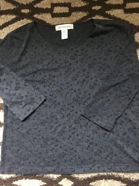 04d67224074 Women s Macy s Jones New York blouse shirt top size Large L