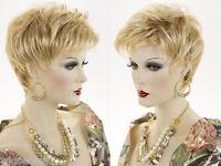 Chic Pixie Short Lightweight Layered Wavy Straight Blonde Brunette Red Wigs