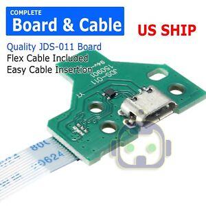 42B2 USB Charging Port JDS-011 12Pin Flex Line Ribbon For PS4 Controller de