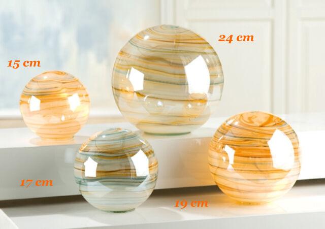 Parte di gilde sfera di vetro vetro vetro incl ghirlanda di luci