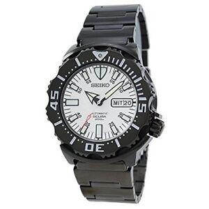 SEIKO-SZEN006-Early-sale-limited-model-Divers-watch-White-waterproof-mechanical