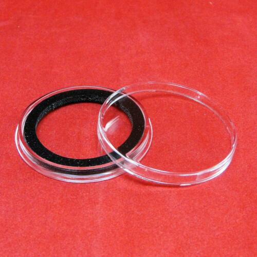 2 Air-Tite X38mm Ring Coin Holder Capsules for Coins Less Than 3.96mm Thick