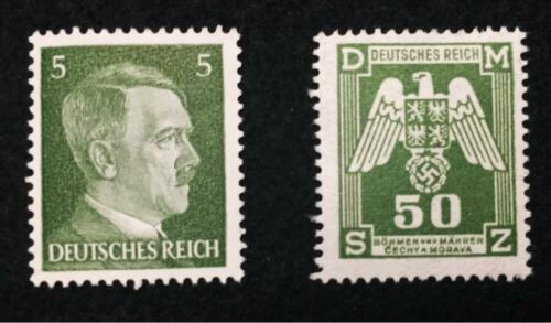 Authentic Rare German WW2 10pf Coin and Stamps