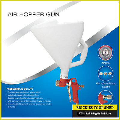Texture Hopper Sprayer, Spray Gun, Texture Spraying Render Plaster Trade Quality