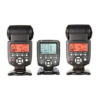 Yongnuo Yn560tx Lcd Wireless Flash Controller + 2 Pcs Yn560iv Flash For Canon