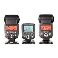 Yongnuo Yn560tx Lcd Wireless Flash Controller + 2 Pcs Yn560iv Flash For Canon
