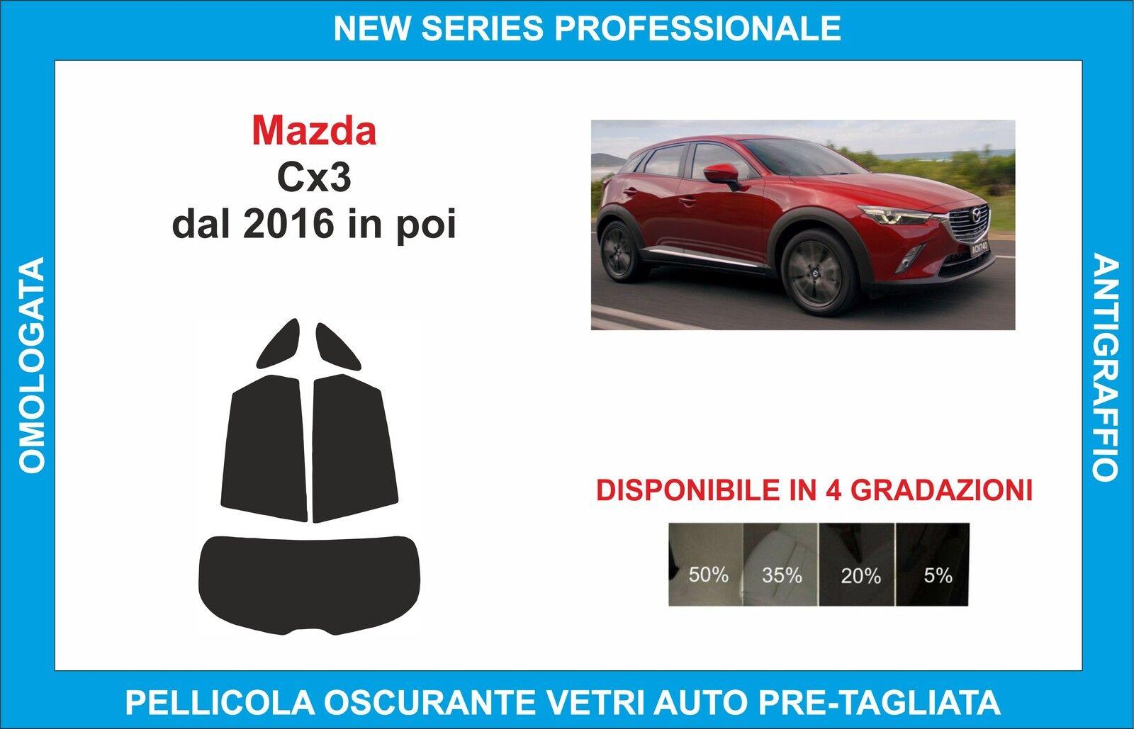 Original Matrícula Frontal Soporte Mazda CX-3 2016 en Adelante