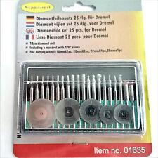 Trennscheiben Set 25tig Diamant Fräser u Diamantfräser Trennscheiben Dremel