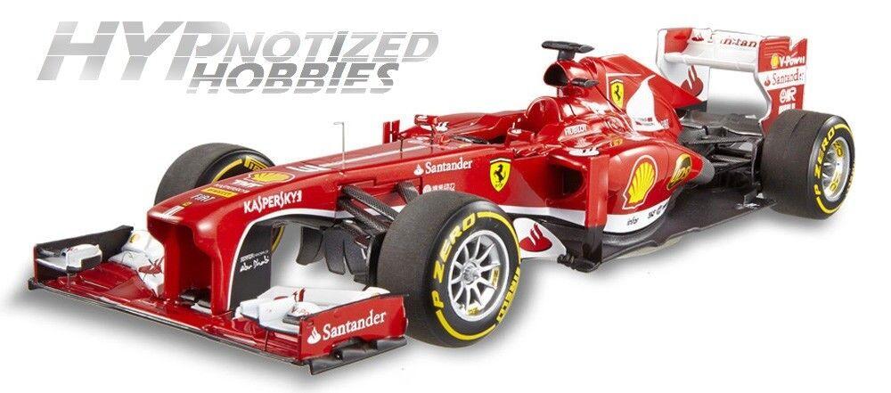 Hot Wheels  Elite Formula 1 Ferrari F2018 F. Alonso BCT82