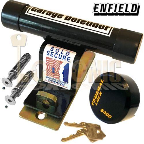 Enfield Up And über Sicherheit Garagentor Defender Secure Quad Bikes Motorräder