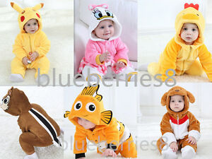 Image is loading Baby-Toddler-cosplay-Costume-Fancy-Dress-kids-Pikachu-  sc 1 st  eBay & Baby Toddler cosplay Costume Fancy Dress kids Pikachu Costume Outfit ...