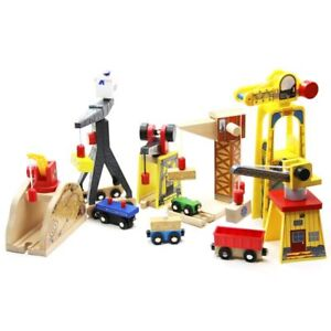 Thomas-and-Friends-Wooden-Train-Parts-Track-Railway-Accessories