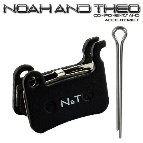 N/&t shimano br S501 T605 R505 M601 M765 M800 semi métallique plaquettes de frein à disque