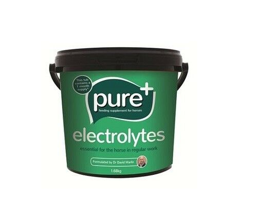 Pure Feed Company Pure+ Horse Electrolyte 1.68kg Equine Horse Food feed