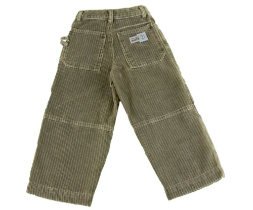 JACADI Boy/'s Rear Bronze Cotton Corduroy Trousers Size 3 Years $66 New