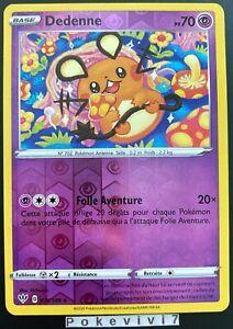 Carte-Pokemon-DEDENNE-078-189-REVERSE-Epee-et-Bouclier-3-EB03-FR-NEUF