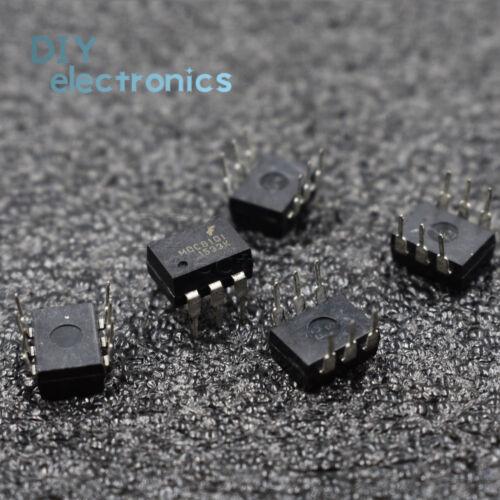 25PCS MOC8101 8101 6-PIN optocouplers para aplicaciones de fuente de alimentación