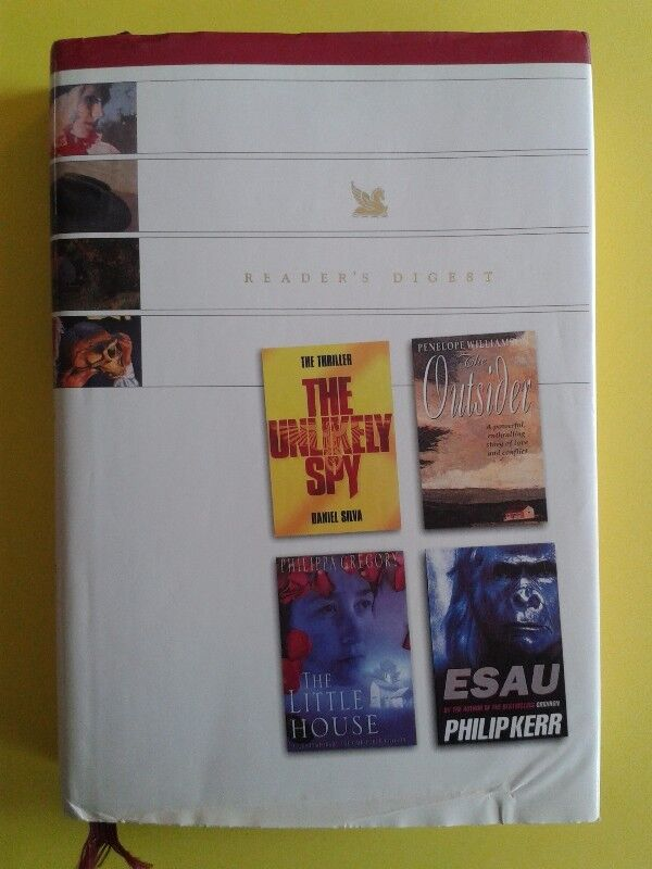 Reader's Digest Select Editions - The Unlikely Spy - Daniel Silva.