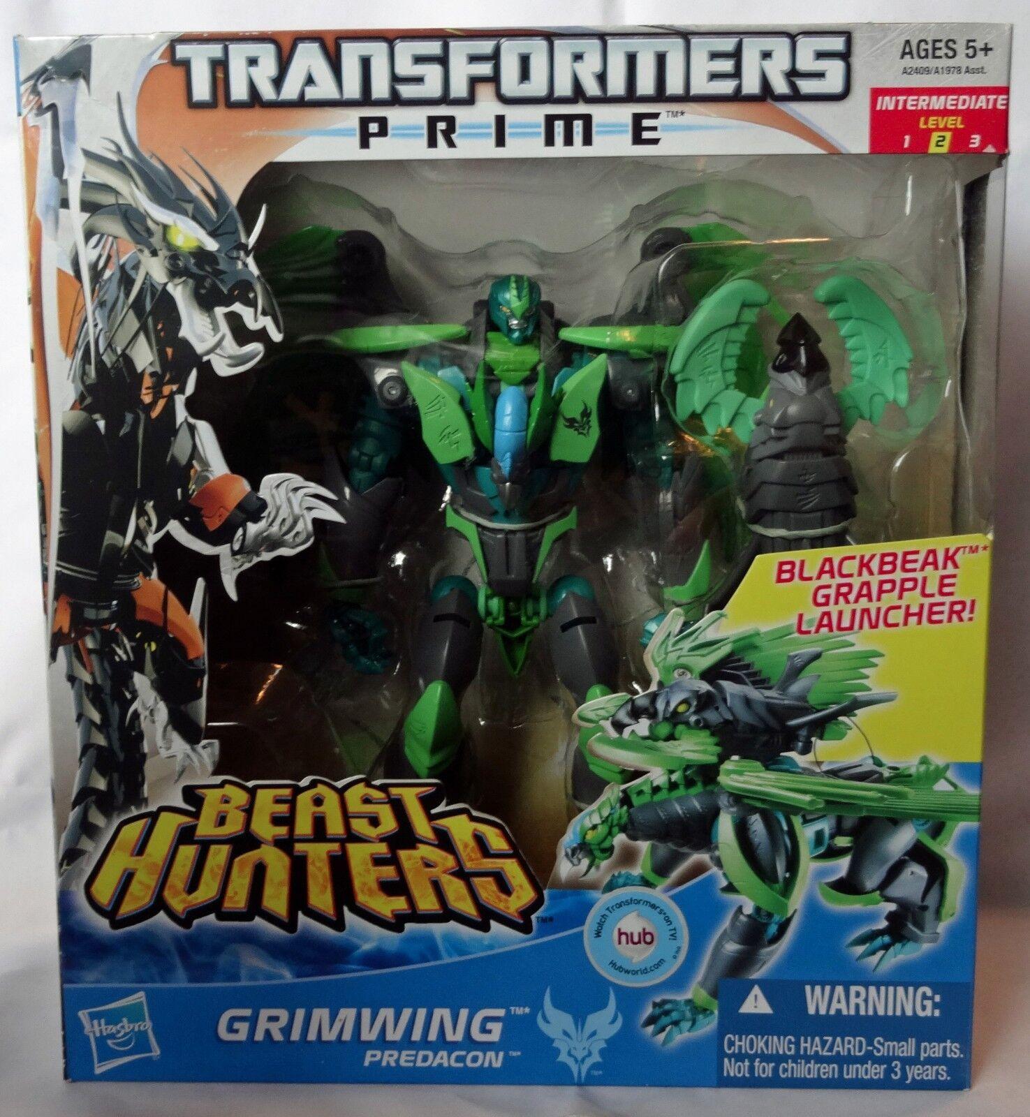 GRIMWING Transformers Prime Beast Hunters Voyager Class Beast Wars Predacon MISB