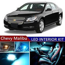 10 pcs LED ICE Blue Light Interior Package Kit for Chevy Malibu 2005-2012