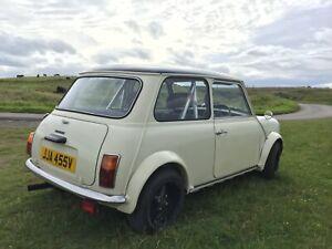 Classic Mini, rally look, perfect underneath.
