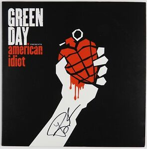 Billie-Joe-Armstrong-American-Idiot-Green-Day-JSA-Signed-Autograph-Record-Vinyl